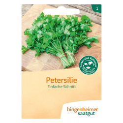 Bingenheimer Saatgut - Parsley smooth - 1.2g