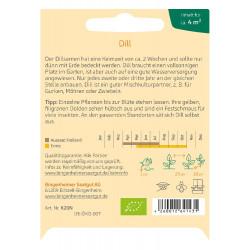Bingenheimer seeds - dill -...