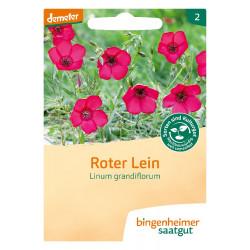 Bingenheimer Saatgut - Red Flax - 0.4g