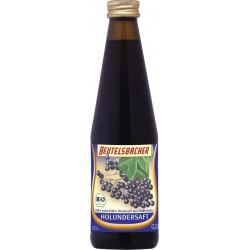 Beutelsbacher - elderberry juice naturally cloudy - 0.33l