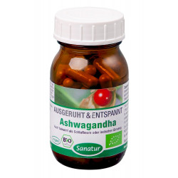 Sanatur - Ashwagandha Bio - 60 capsules