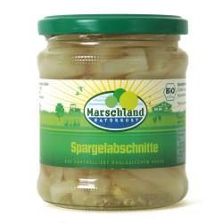 Marschland - organic asparagus cuts - 330g