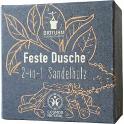 Bioturm - Feste Dusche 2-in-1 Sandelholz - 100g