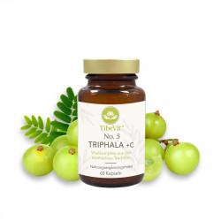 TibeVit - No. 5 Triphala + C - 60 Kapseln
