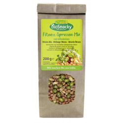 Raiponce - mélange de germes bioSnacky Fitness - 200g
