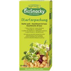 Raiponce - Pack de démarrage bioSnacky - 4 pièces