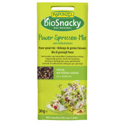 Rapunzel - bioSnacky Power Sprossen-Mix- 30g