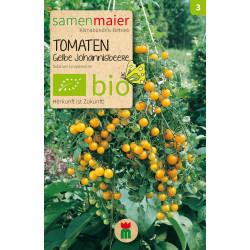 Samen Maier - Bio Tomate Gelbe Johannisbeere - 1Tüte