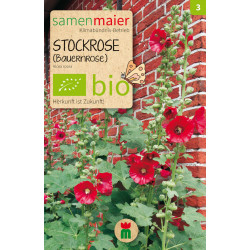Samen Maier - Bio Stockrose - 1Tüte