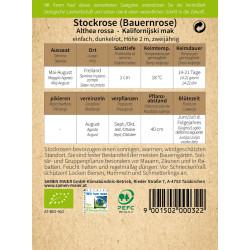 Samen Maier - Bio Stockrose...