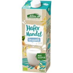 Allos - Hafer Mandel Drink Ungesüßt - 1l
