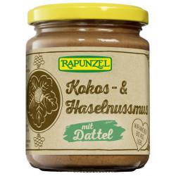 Rapunzel - Kokos- & Haselnussmus mit Dattel - 250g