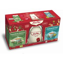 Yogi Tea - tea gift set with jute backpack