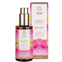 Khadi - Body Oil Rose Love - 100ml