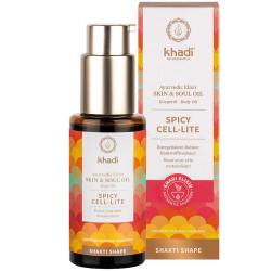 Khadi - Huile corporelle Spicy Cell-lite - 100ml