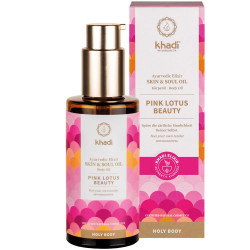 Khadi - Huile pour le corps Pink Lotus Beauty - 100ml