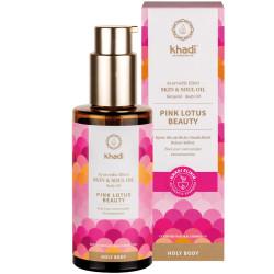 Khadi - Körperöl Pink Lotus Beauty - 100ml