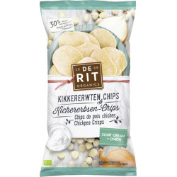 De Rit - Kichererbsen-Chips Sour Cream - 75g