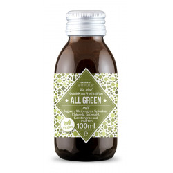 Organic Human Shot - All Green - 100ml