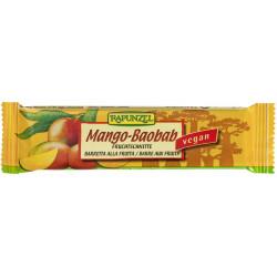 Rapunzel - Fruchtschnitte Mango-Baobab - 40g