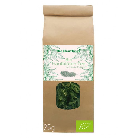the Hanflinge - organic CBD & CBG hemp tea Futura - 25g