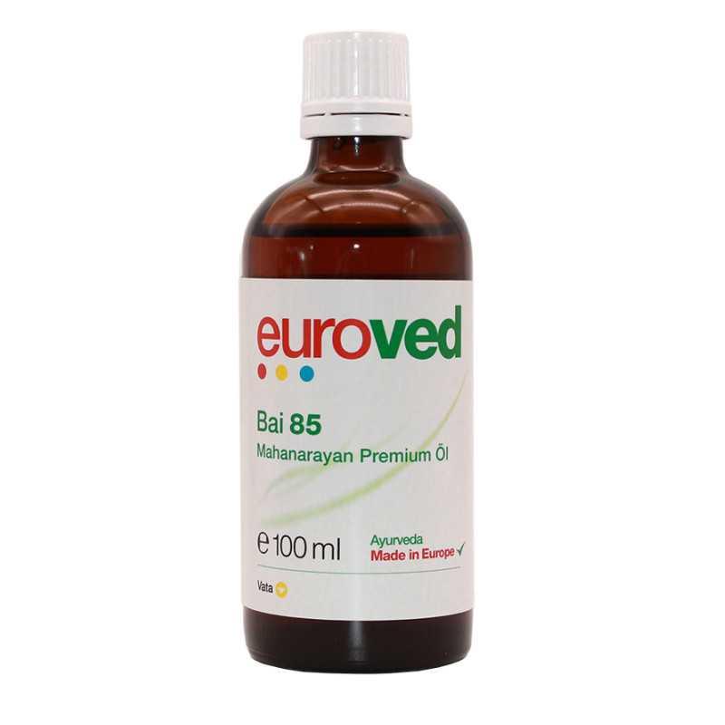 euroved - Bai 85 Mahanarayan Oil - 100ml