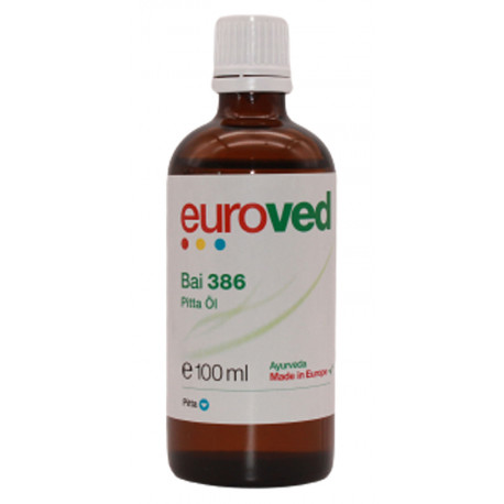 euroved - Bai 386 Pitta Oil - 100ml
