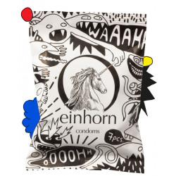 einhorn - Kondome Rückkehr der Spermamonster - 7 Stück