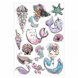 Lipfein - adhesive tattoos...