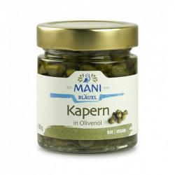 MANI - câpres bio à l'huile d'olive - 180 g