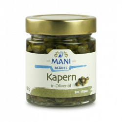 MANI - organic capers in olive oil - 180 g