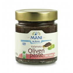 MANI - pasta de aceitunas Kalamata orgánica - 180 g