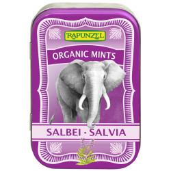 Rapunzel - Organic Mints Sage Candies - 50g