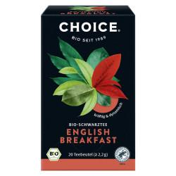 CHOICE - English Breakfast Organic Tea - 44g