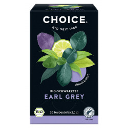 CHOICE - Earl Gray Organic Tea - 40g