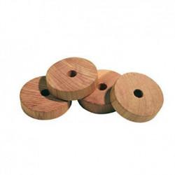 Rezi - cedar wood rings against moths - 6 pieces