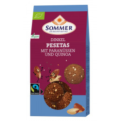 Summer - Pesetas cocoa biscuits with quinoa - 150g