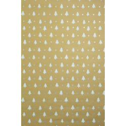 ZoeWie - eco wrapping paper fir trees - 1 roll