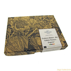 Magic Garden Seeds - Edible Flowers Organic Seed Gift Set