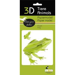 Fridolin - Frog Paper Kit