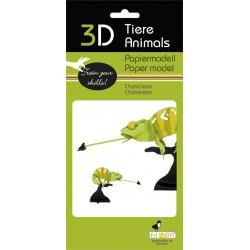 Fridolin - Chameleon Paper Kit