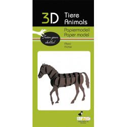 Fridolin - kit horse paper