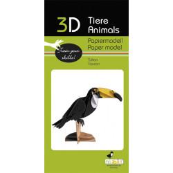 Fridolin - Toucan paper kit