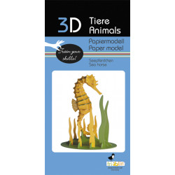 Fridolin - Seahorse Paper Kit
