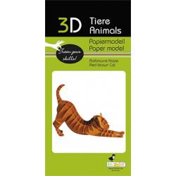 Fridolin - kit cat paper
