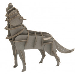Fridolin - Bausatz Wolf Papier
