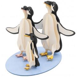Fridolin - Paper penguins kit
