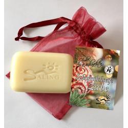 Saling - sheep's milk soap stone pine - 100g