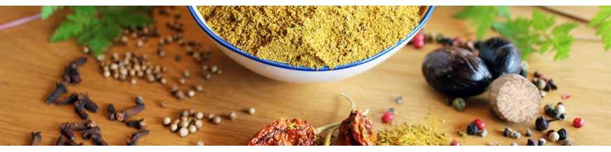 Mischungen: Hochwertige Gewürzmischungen aus natürlich besten Gewürzen und Kräutern machen Ihr Essen zum Erlebnis