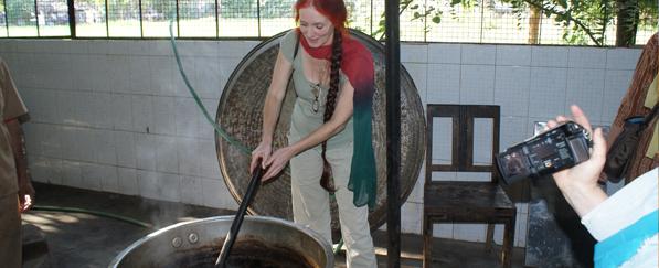 Sabine kocht Ayurveda-Öl
